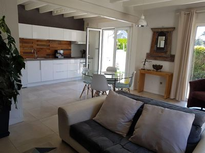 Photo for PRETTY VILLA ON ONE LEVEL RENOVATED IN QUIET, 1KM FROM THE BOURG