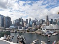 The property was everything we needed it to be, and the location, next to the Pyrmont Bridge, was