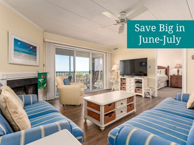 Photo for Newly-Upgraded Oceanfront - Wi-Fi, Pool, Beach Chairs, Great Views/Sunrises!