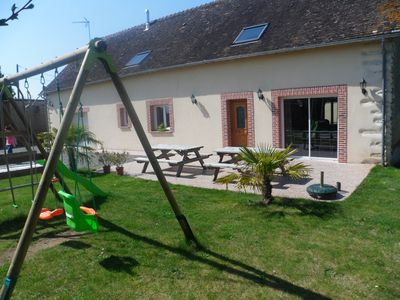 Photo for Rural cottage near Le Mans and 10 minutes circuit.