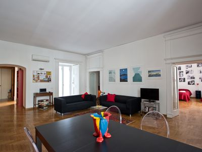 Photo for Elegant And Spacious Apartment In The Very Historical Centre Of Naples