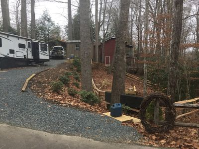 1/4 Acre Lot with Fenced Yard & Fire Pit