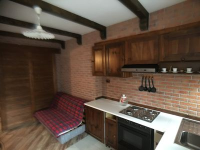 Photo for 1BR Apartment Vacation Rental in Sauze D'oulx, Piemonte