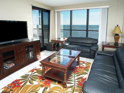 Photo for Windemere Penthouse #2, oceanfront North Myrtle Beach condo with indoor pool and jacuzzi