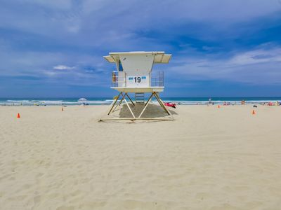 Photo for DISCOUNTED! - Mission Beach Vacation @ Ostend Ct. - Just 70 Steps To The Sand!