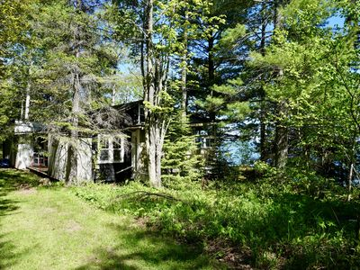 Photo for Artist's Perch on Madeline Island Overlooking Big Bay and Short Walk To Beach