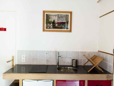 Photo for Beautiful renovated studio of 25m² with privatized 20m² terrace, ideal for couples
