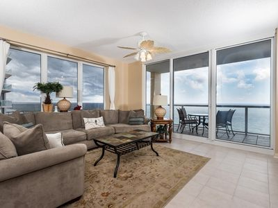 Photo for Beautiful Gulf Front Condo! Great Amenities & Private Beach Access!
