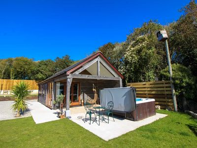 Photo for An incredible luxury 1 bed holiday home with hot tub on the stunning Lizard peninsula