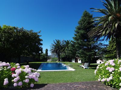 Photo for VILLA PARADISE, LUXURY AND GLAMOR IN SANTANDER, WITH POOL, SPA