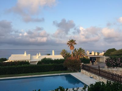 Photo for Beautiful Sea Views, Private Pool, Garden, BBQ, Free WiFi, Satellite & A/C