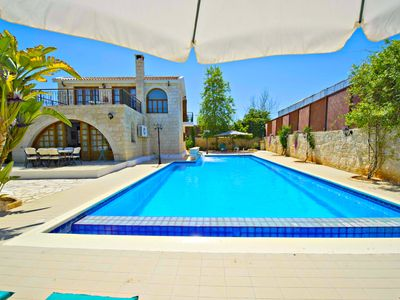 Photo for Exclusive Luxury Villa - Massive 14m x 7m Swimming Pool - 5 Mins Walk to Beach