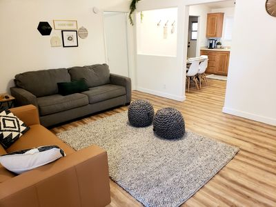 Photo for Come stay at our comfy, cozy, NEWLY RENOVATED home in the Ivins, UT!