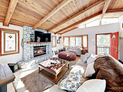 Living Area - Welcome to Big Bear Lake! This 2-story mountain home is professionally managed by TurnKey Vacation Rentals.