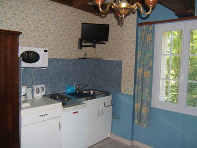 Photo for Studio 2 people in the Tarn countryside - Air conditioning and Wifi