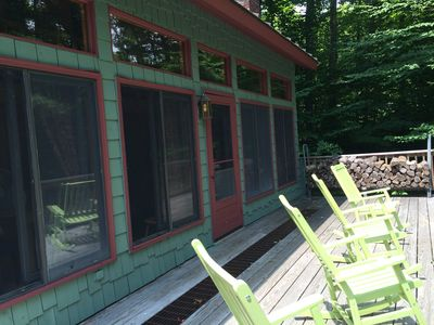 Imagine yourself on our front porch taking in the view and the peace & quiet