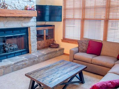 Photo for NEW LISTING!  Timbers Condo Within Walking Distance to Town, Shared Hot Tub