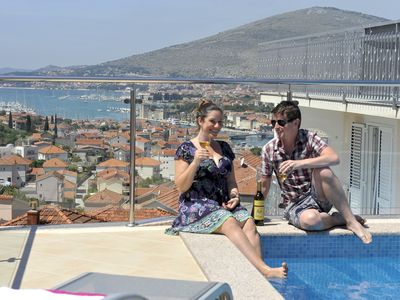 Photo for Brand new luxury villa/Roof pool !Avbl. in season