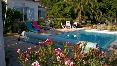 Photo for INDEPENDENT VILLA THE CADIERE D'AZUR