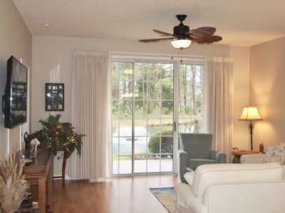 Photo for New Listing! 1st Floor, 2BR Golf/Beach Condo, W/Wifi,  and Views of Golf Course