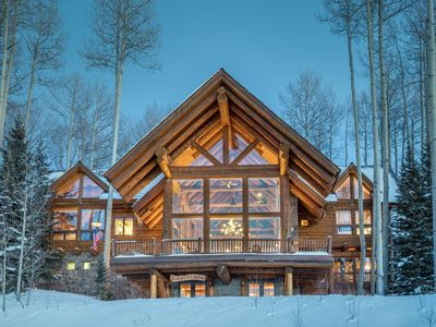 Photo for Luxuriously Appointed with International Works of Art, Breathtaking Views & Ski Access