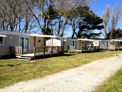 Photo for Camping Flower Les Paludiers *** - Mobil Home Confort Plus 4 Rooms 6/8 People