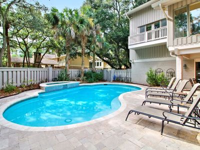 Photo for 10 Royal Tern - 2nd Row Home in Sea Pines w/ Private Pool & Spa