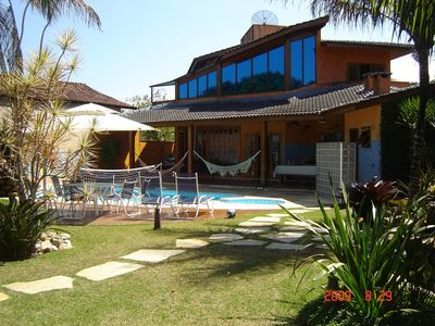 Photo for Luxury House, Cond Closed Costa do Sol Swimming Pool, 1 Block from Guaratuba Beach