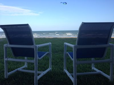 Photo for True Beachfront (not just sideview) Condo!! Heated Pool and Large Grilling Area