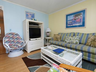 Photo for 2BR oceanview @ MB Resort, pools/WiFi/gym/lazy river