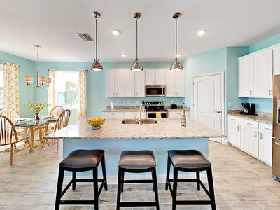 Photo for Sparkling New Canal Home w/ Chef's Kitchen & Water-View Patio