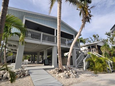 Photo for Adorable 2 bed/2 bath canalfront getaway on Big Pine Key