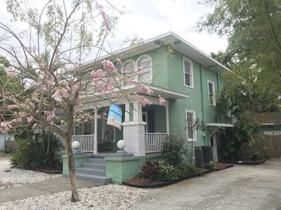 Photo for Enjoy old Florida charm in this restored Italianate home c.1925. Near everything