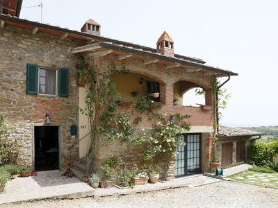 Photo for Self-contained gem, lovely views in heart of southern Tuscany