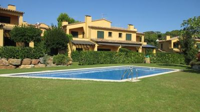 Photo for Llafranc Holiday Home, Sleeps 8 with Pool