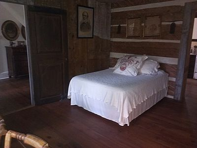 Photo for 1753 Log 'Room' with Queen Mattress
