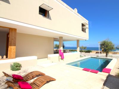 Photo for GREAT VIEW VILLA. FIRST LINE OF THE SEA. THEY ARE SERRA DE MARINA.