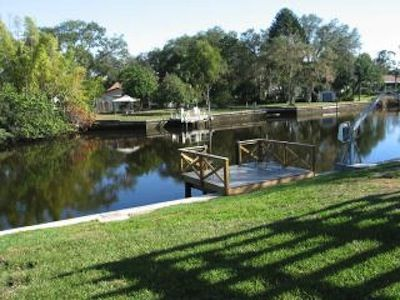 Your private dock to fish or kayak from.