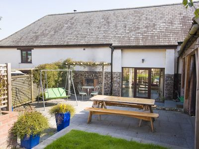 Photo for Weirmarsh Big Barn. Large barn conversion with large hot tub and games room.