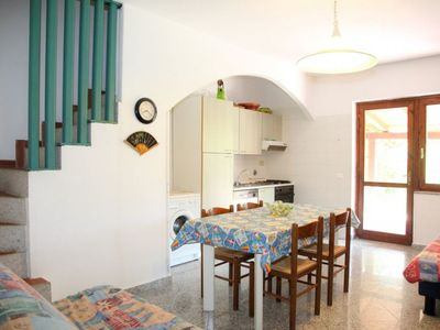 Photo for BBQ area with furnished veranda, and garden and outdoor shower