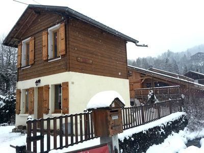 Photo for Amazing chalet with terrace and Wifi