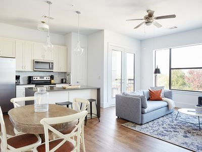 Photo for Sonder | The Hampstead | Grand 2BR + Balcony