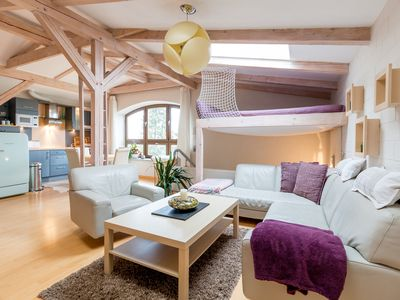 Photo for Cozy apartment in the former farmhouse between Rostock & Warnemünde
