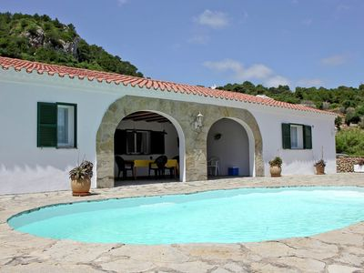 Photo for Holiday home with private swimming pool in the tranquility and nature of Menorca