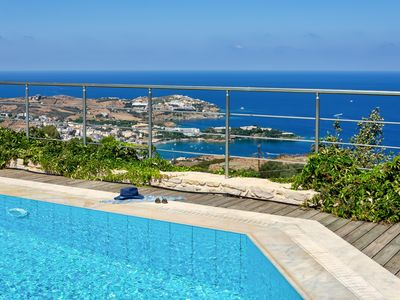 Photo for Villa Hara: Private villa with Panoramic Sea View, Pool, Garden, BBQ & Free WiFi