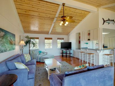 Photo for NEW LISTING! Gorgeous, waterfront Rockport home w/ dock & two full kitchens!