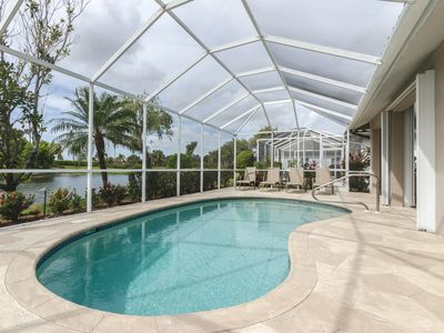 Photo for Private Pool Home - Lanai with Southern Exposure and Sunset View