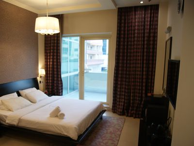 Photo for Spacious serviced Studio Oud Metha 5' to airport