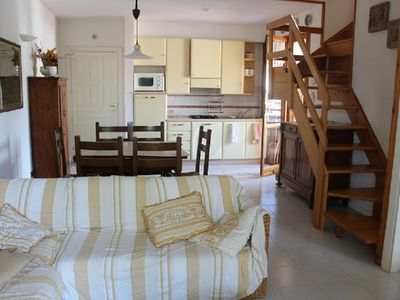 Photo for Bright three-room apartment with two bathrooms, terraces and parking space