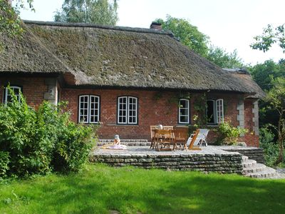 Photo for Hidden cottage on the edge of the forest - Holstein Switzerland - 15 min. Baltic Sea
